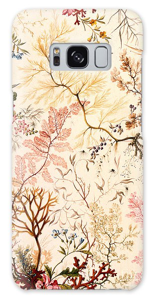 Decorative Galaxy Case - Marble End Paper  by William Kilburn
