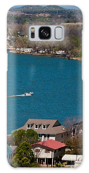 Galaxy Case featuring the photograph Marble Falls Lake by Mae Wertz
