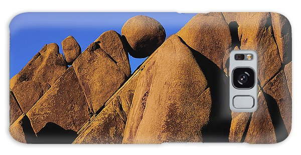 Marble Rock Formation Closeup Galaxy Case