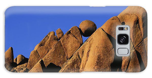 Marble Rock Formation Pano Galaxy Case