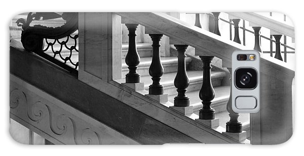 Galaxy Case featuring the photograph Marble Stair by Brad Brizek