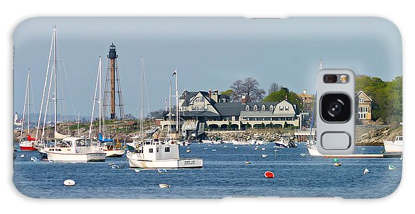 Marblehead Light And Yacht Club Galaxy Case