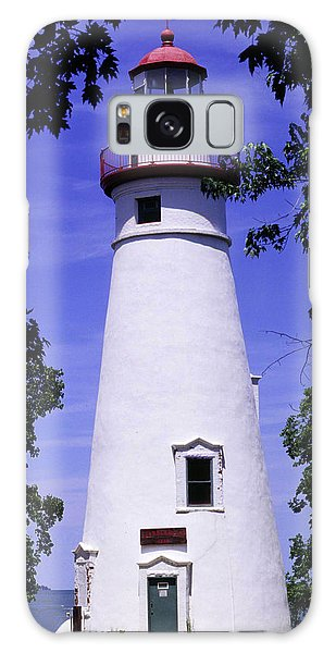 Marblehead Light Galaxy Case