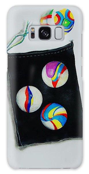 Marbles Galaxy Case by Jean Cormier