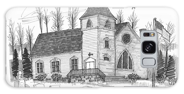 Marbletown Church Galaxy Case