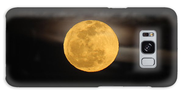 March Full Moon Galaxy Case