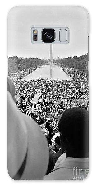 March On Washington Galaxy Case - March On Washington For Jobs And Freedom by Celestial Images