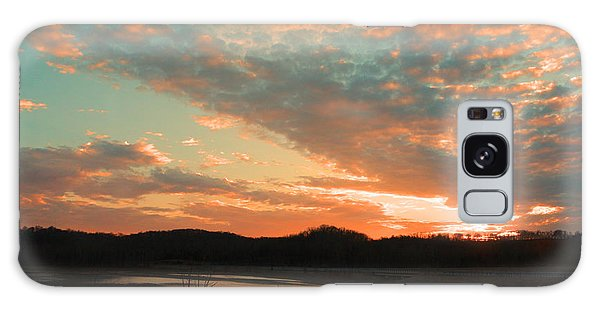 March Sunset With Signature Galaxy Case by Lorna Rogers Photography