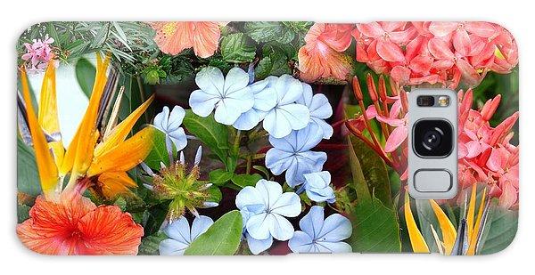 Marco Flowers Galaxy Case