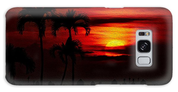 Marco Island Sunset 59 Galaxy Case