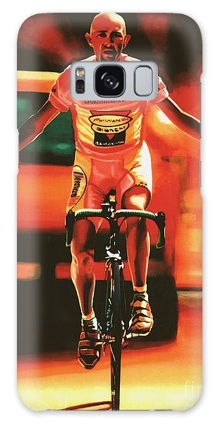 Sportsman Galaxy Case - Marco Pantani by Paul Meijering