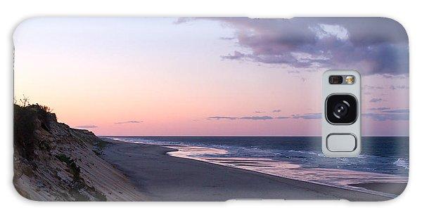 Marconi Beach At Dusk Galaxy Case by Brian Caldwell
