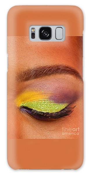 Mardi Gras 2014 Eye See Colors Of Mardi Gras Galaxy Case by Michael Hoard