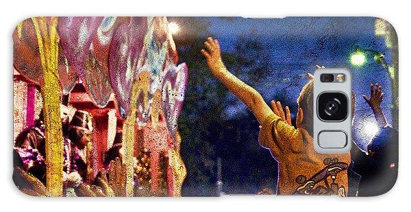 Mardi Gras At Night Galaxy Case by Ray Devlin