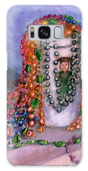 Mardi Gras Beads In Louisiana Galaxy Case