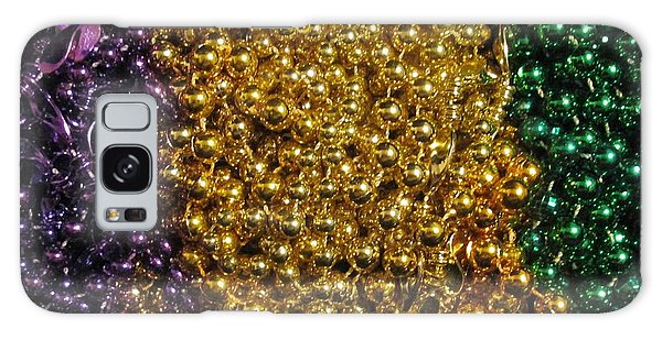 Mardi Gras Beads - New Orleans La Galaxy Case