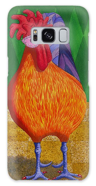 Mardi Gras Chicken Galaxy Case