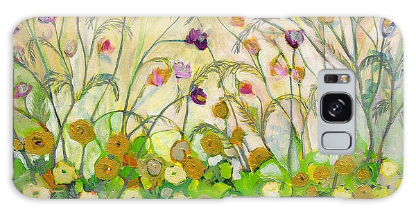 Floral Garden Galaxy Case - Mardi Gras by Jennifer Lommers