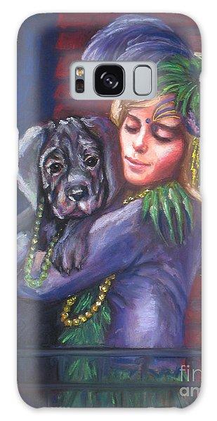 Mardi Gras Puppy Galaxy Case