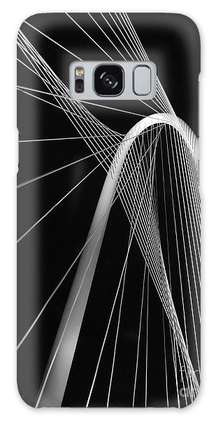 Margaret Hunt Hill Bridge Dallas Texas Galaxy Case