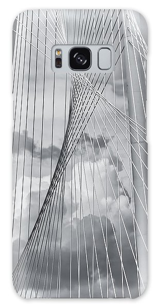 Galaxy Case featuring the photograph Margaret Hunt Hill Bridge by Joan Carroll