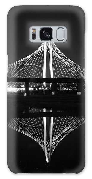 Margaret Hunt Hill Bridge Reflection Galaxy Case