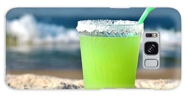 Margarita On The Beach Galaxy Case