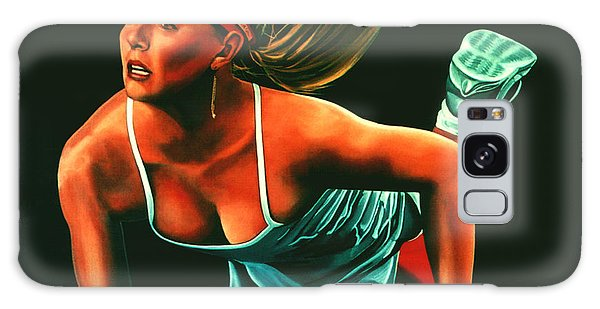 Maria Sharapova  Galaxy Case by Paul Meijering