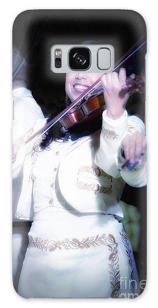 Mariachi Mujer Galaxy Case
