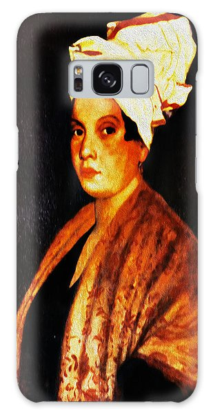 Marie Galaxy Case - Marie Laveau - New Orleans Witch by Digital Reproductions