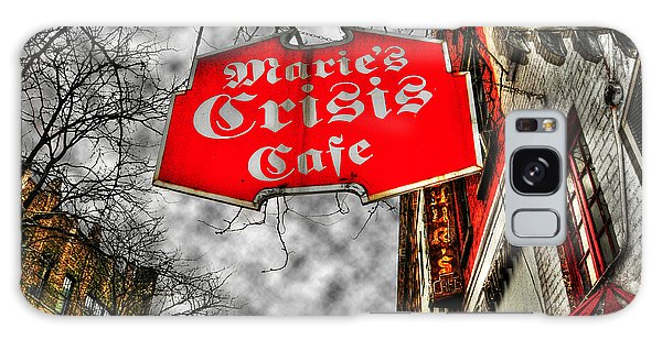 Street Cafe Galaxy Case - Marie's Crisis Cafe by Randy Aveille
