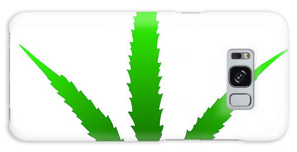 Marijuana Leaf Galaxy Case by Michal Boubin