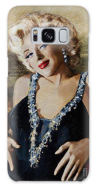 Marilyn 126 Mona Lisa Galaxy Case