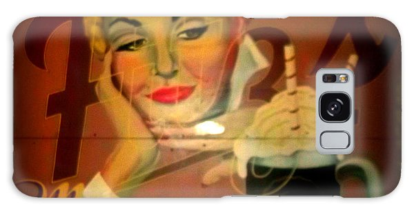 Marilyn And Fitz's Galaxy Case by Kelly Awad