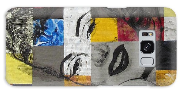 Marilyn In Abstract Galaxy Case by Malinda  Prudhomme