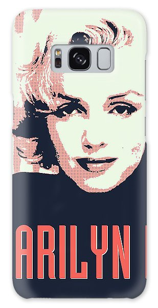 Actors Galaxy S8 Case - Marilyn M by Chungkong Art