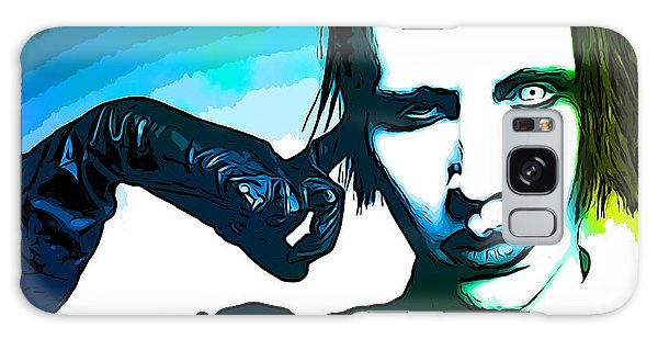 Strange Galaxy Case - Marilyn Manson Poster by Dan Sproul