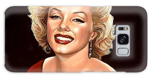 Realistic Galaxy Case - Marilyn Monroe 3 by Paul Meijering
