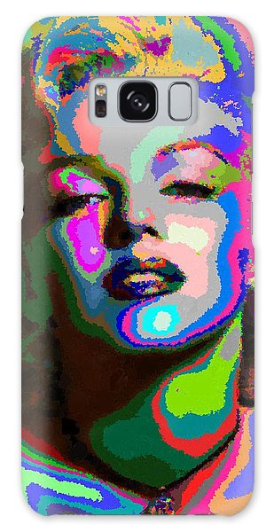 Marilyn Monroe - Abstract 1 Galaxy Case