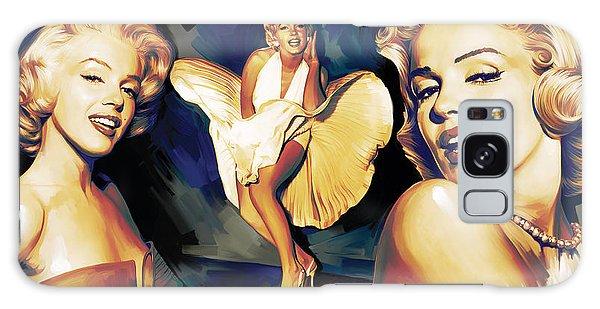 Marilyn Monroe Artwork 3 Galaxy Case