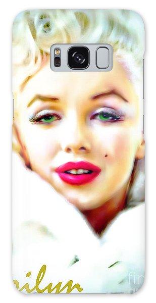 Marilyn Monroe Galaxy Case by Barbara Chichester