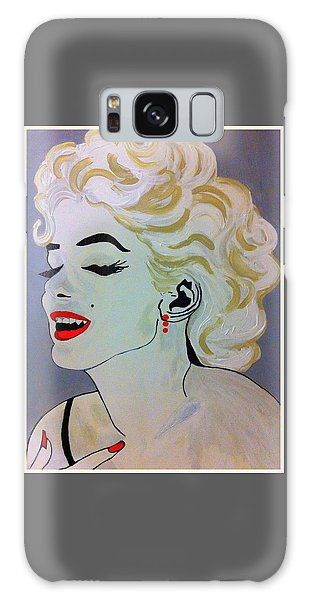 Marilyn Monroe Beautiful Galaxy Case