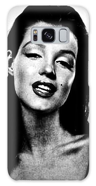 Marilyn Monroe--brunette Galaxy Case