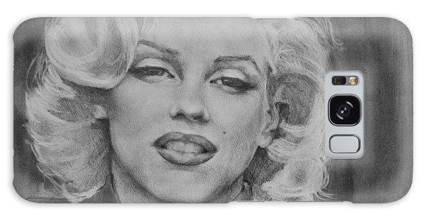 Marilyn Monroe Galaxy Case by Jani Freimann