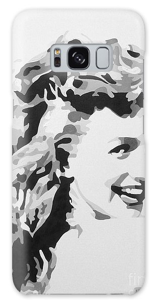 Marilyn Monroe Galaxy Case by Katharina Filus