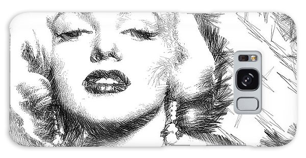 Marilyn Monroe - The One And Only  Galaxy Case
