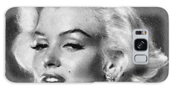 Beautiful Marilyn Monroe Unique Actress Galaxy Case