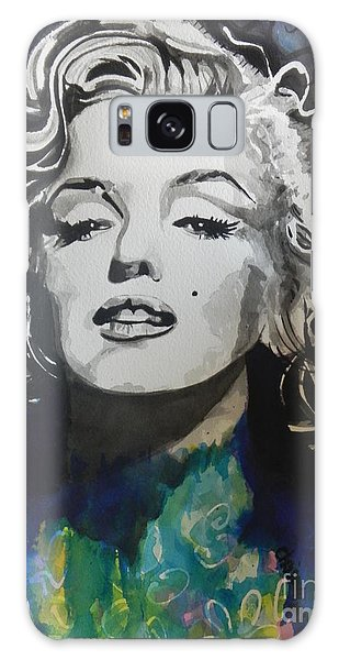 Marilyn Monroe..2 Galaxy Case by Chrisann Ellis