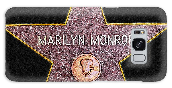 Marilyn Monroe's Star Painting  Galaxy Case