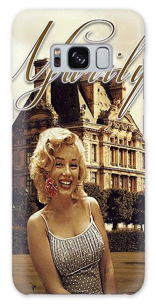 Marilyn Paris Monroe Galaxy Case